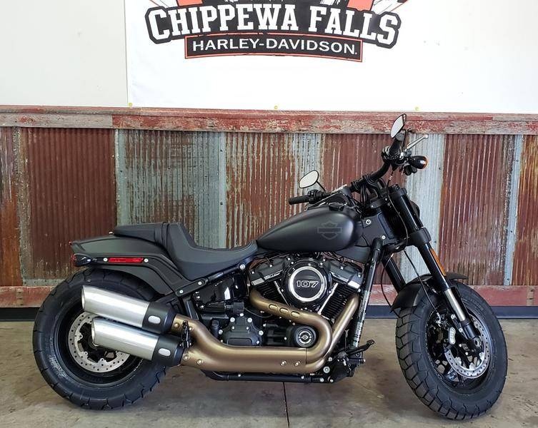 2018 Harley-Davidson Fat Bob® 107 in Chippewa Falls, Wisconsin - Photo 1