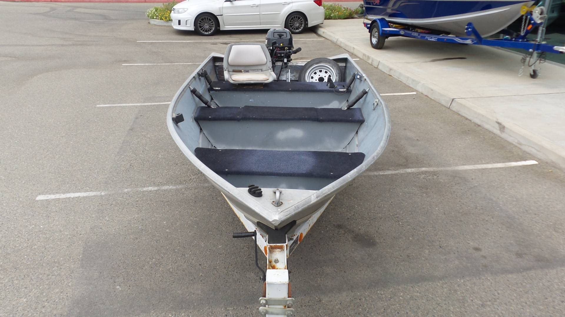 1976 Gregor 14 Ft Fishing Boat in Madera, California