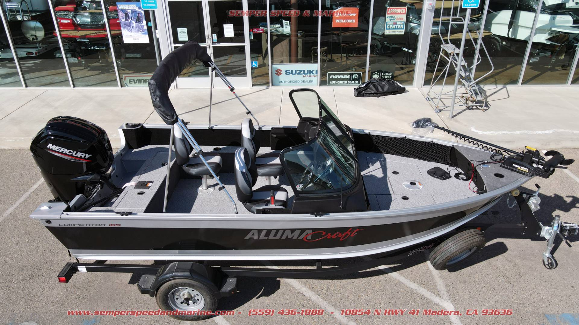 2021 Alumacraft Competitor 165 Sport in Madera, California - Photo 2