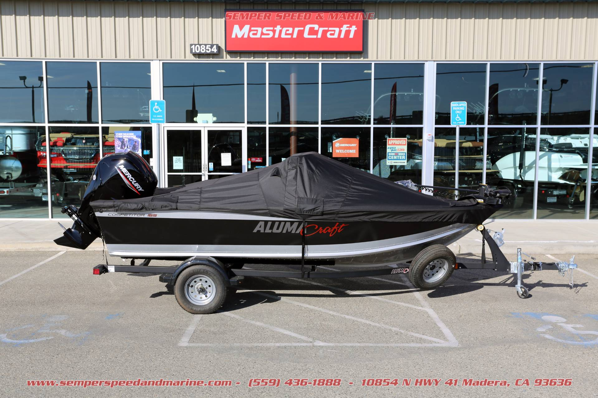 2021 Alumacraft Competitor 165 Sport in Madera, California - Photo 27