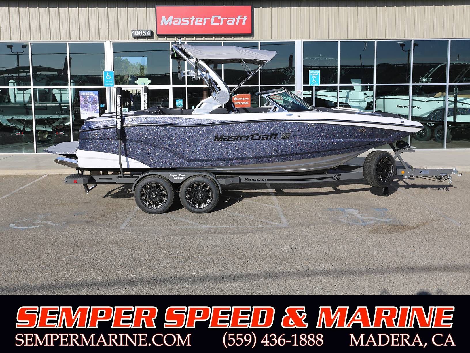 2021 Mastercraft XT22 in Madera, California - Photo 1