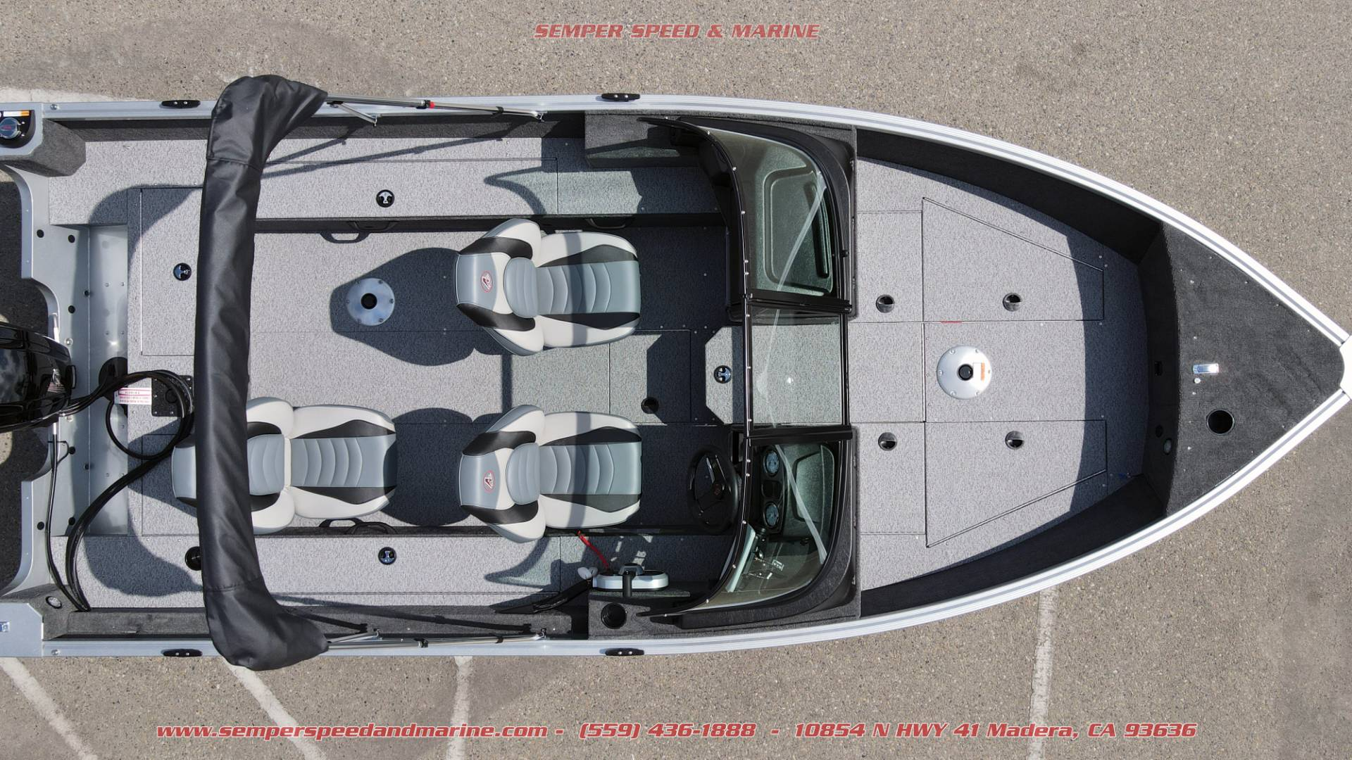 2021 Alumacraft Voyageur 175 Sport in Madera, California - Photo 3
