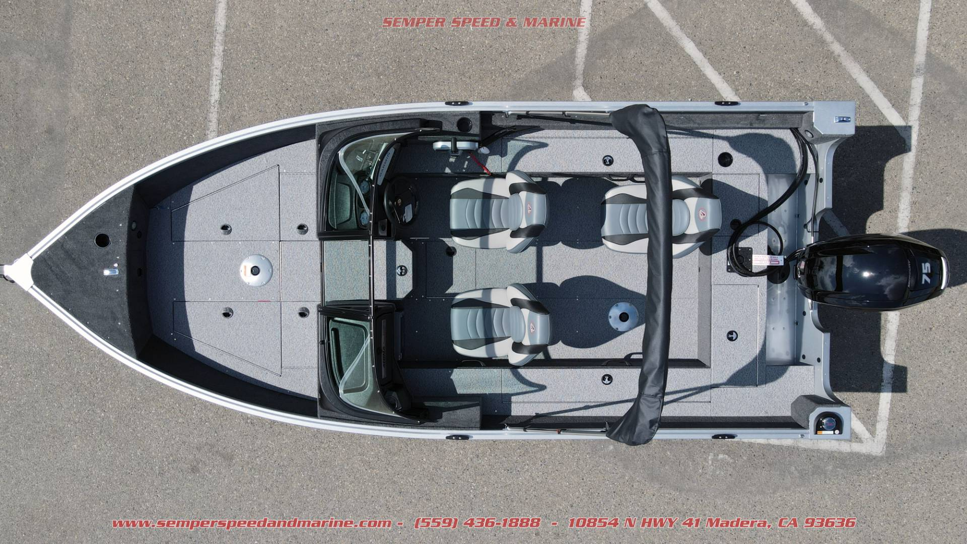 2021 Alumacraft Voyageur 175 Sport in Madera, California - Photo 5