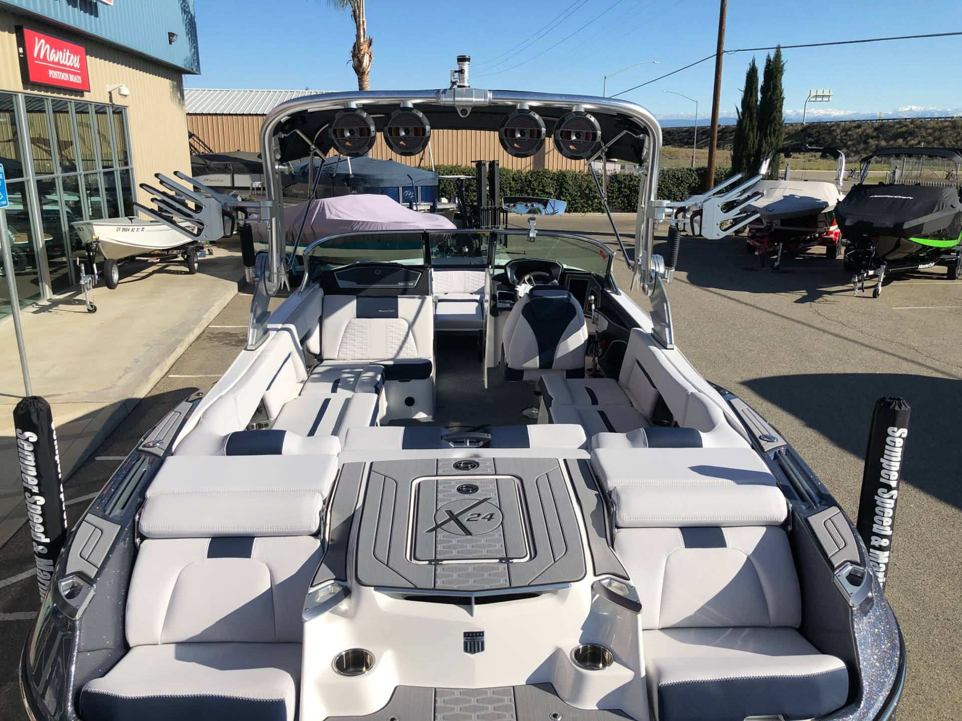 2020 Mastercraft X24 in Madera, California - Photo 4