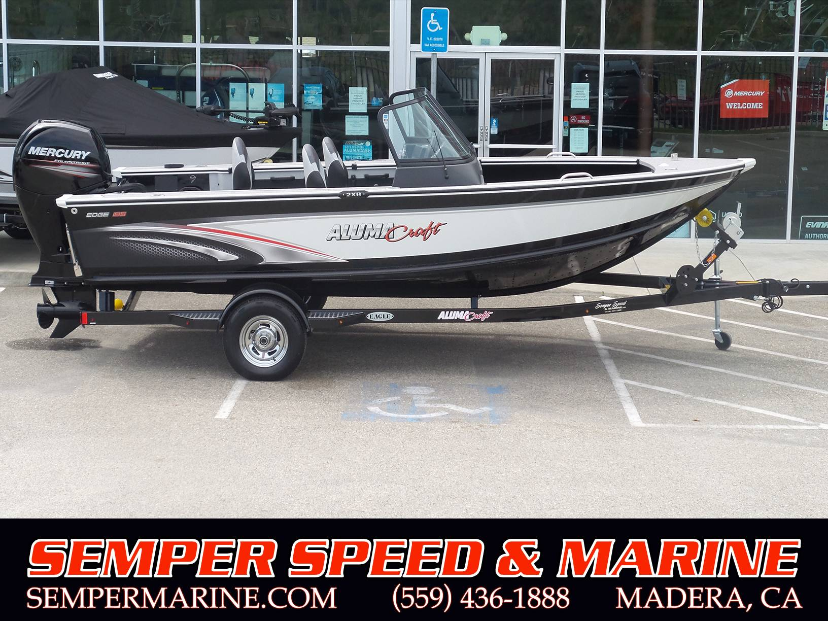 2018 Alumacraft Edge 185 Sport in Madera, California