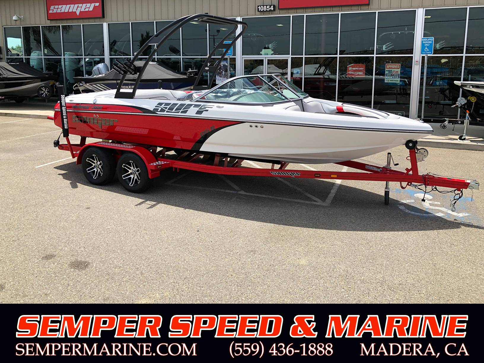 2019 Sanger Boats 215 S in Madera, California - Photo 1