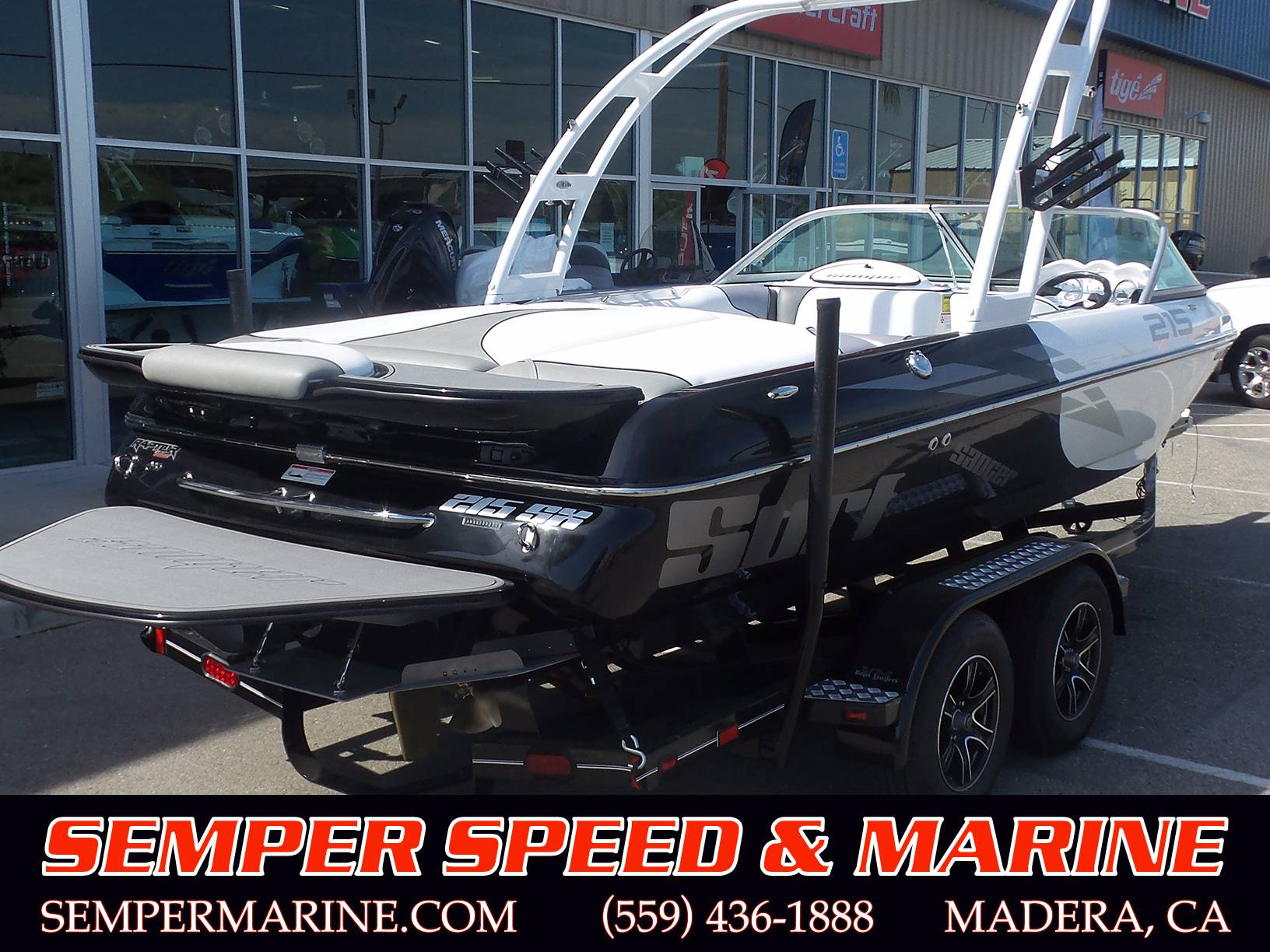 2018 Sanger Boats V215 SX in Madera, California