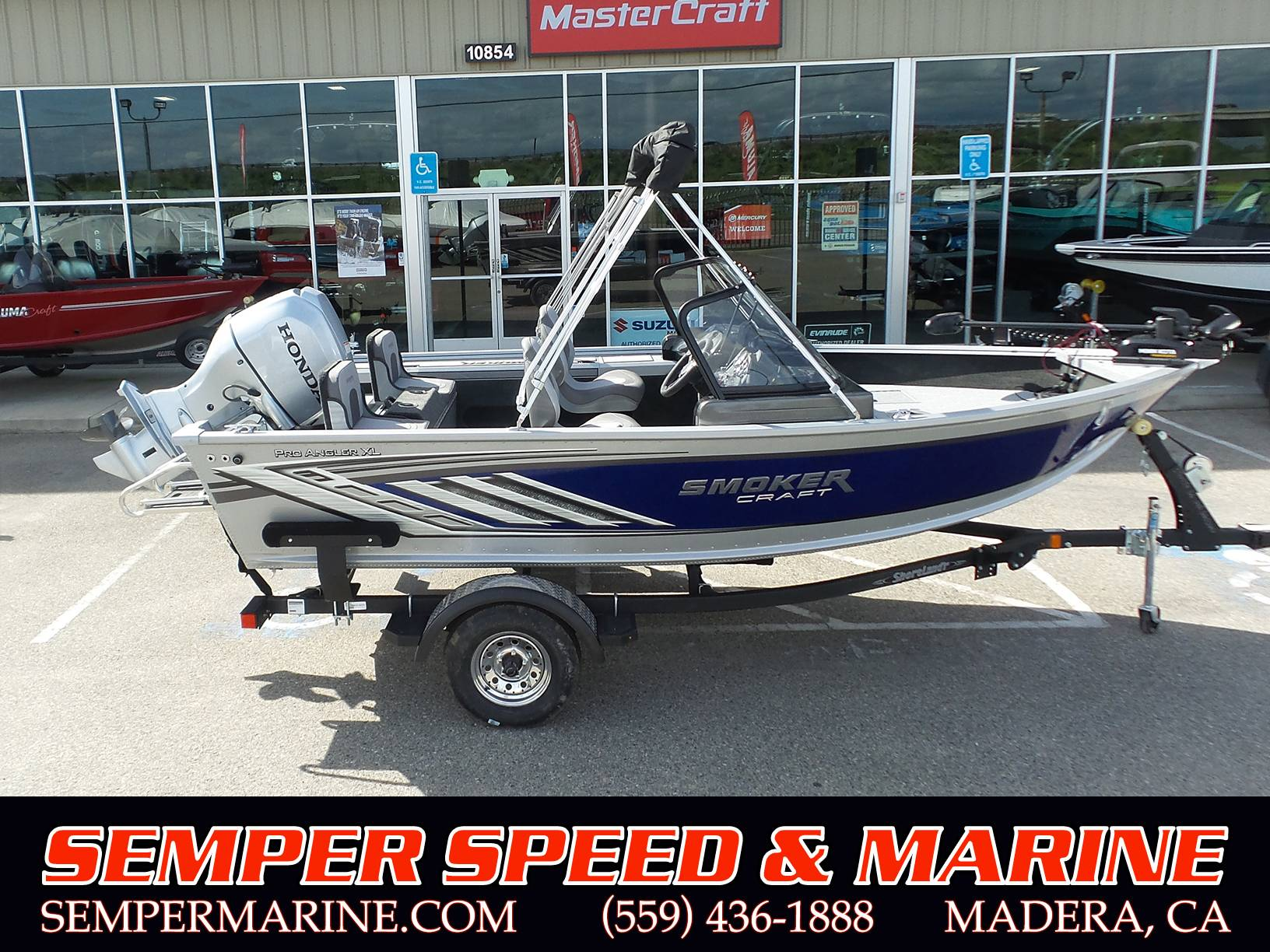 2019 Smoker Craft Pro Angler XL 162 in Madera, California - Photo 1