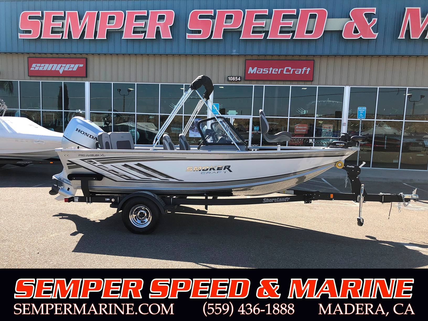 2019 Smoker Craft Pro Angler 172 XL in Madera, California - Photo 1