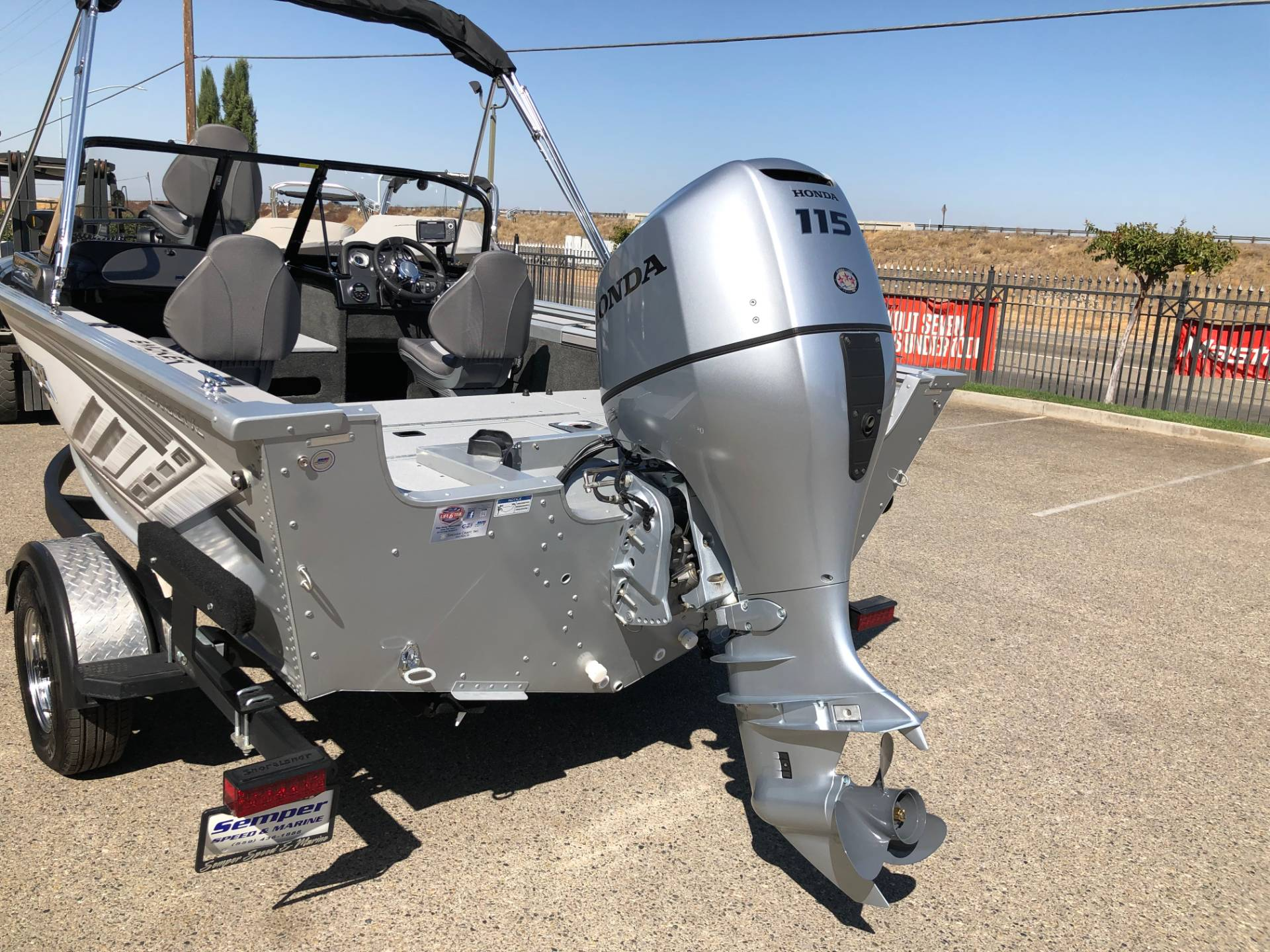 2019 Smoker Craft Pro Angler 172 XL in Madera, California - Photo 7