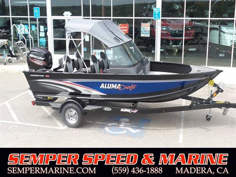 2018 Alumacraft Competitor 165 Sport in Madera, California