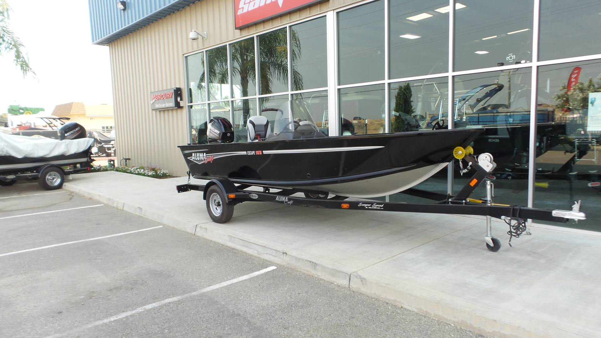 2017 Alumacraft ESCAPE 165 CS in Madera, California