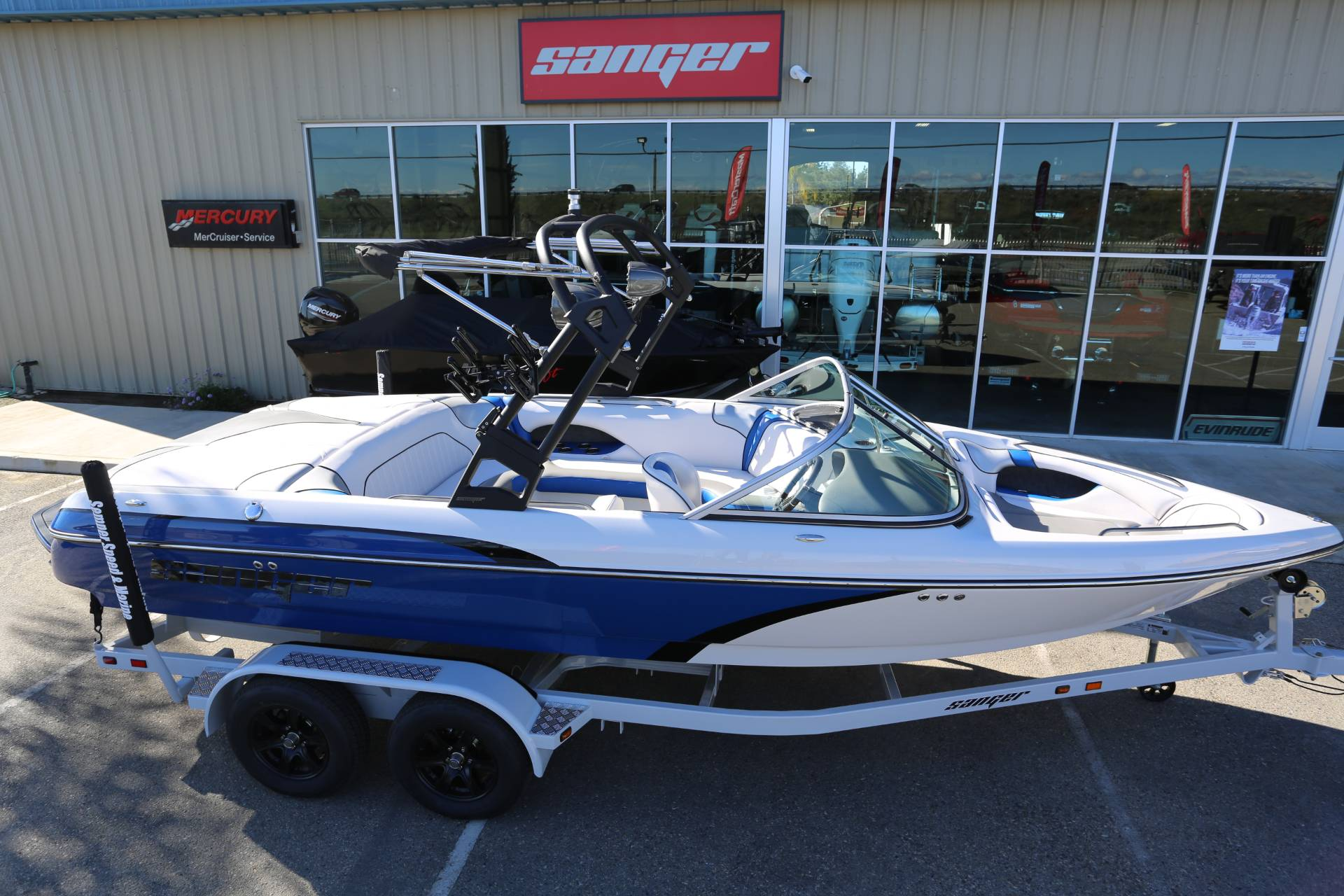 2021 Sanger Boats V215 SX in Madera, California - Photo 26