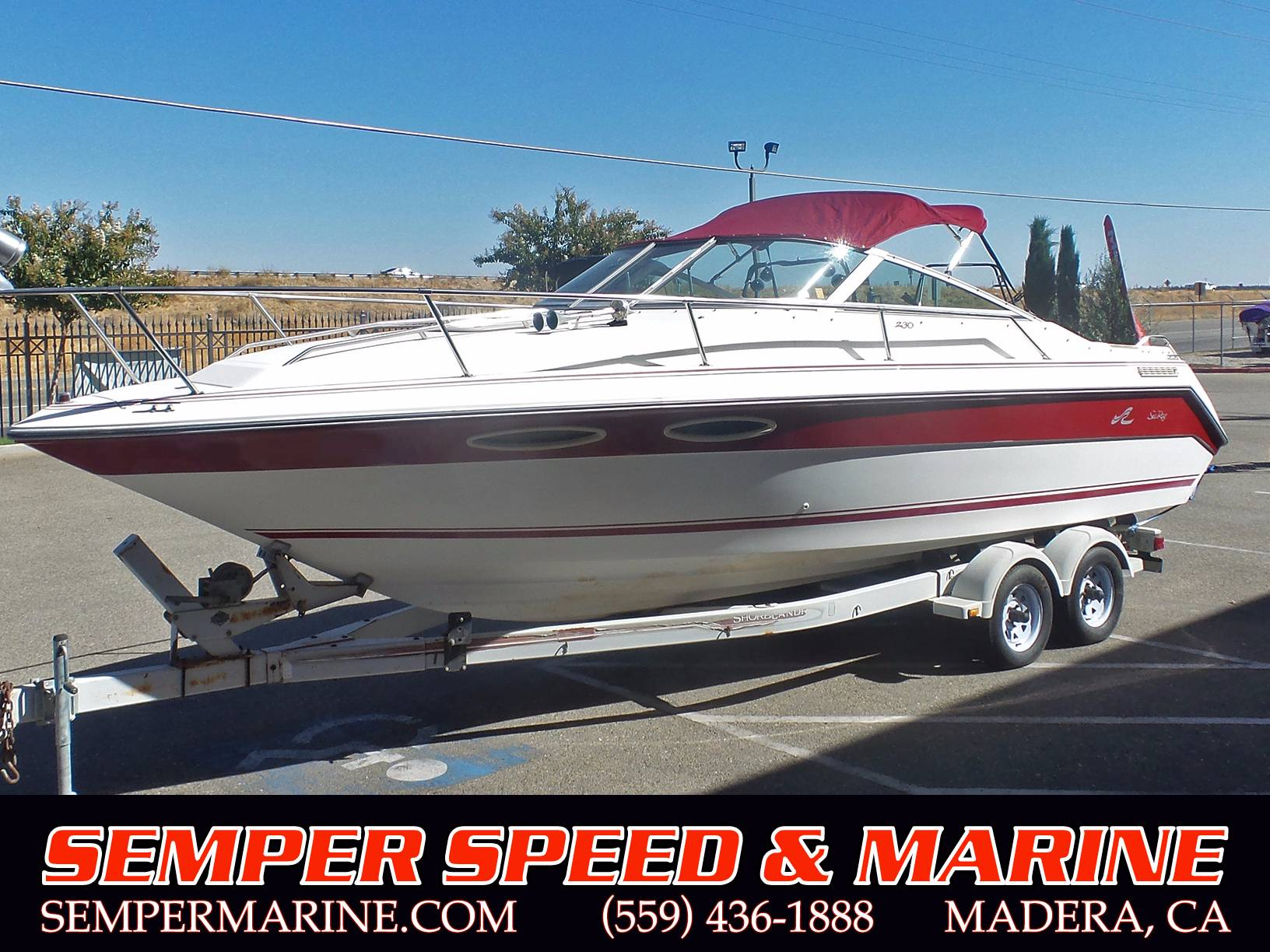 1989 Sea Ray 230 in Madera, California