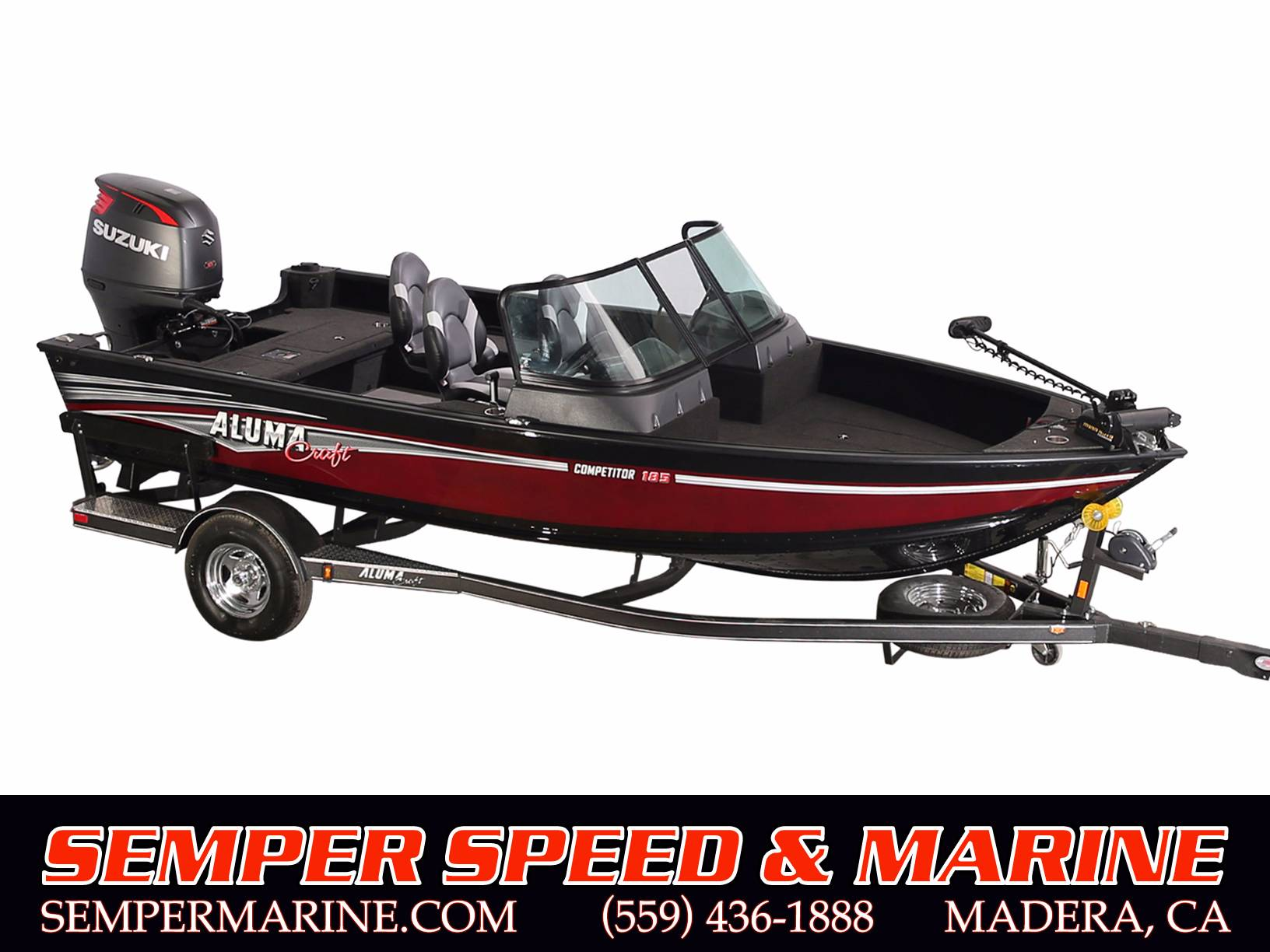 2018 Alumacraft Competitor 185 Sport in Madera, California