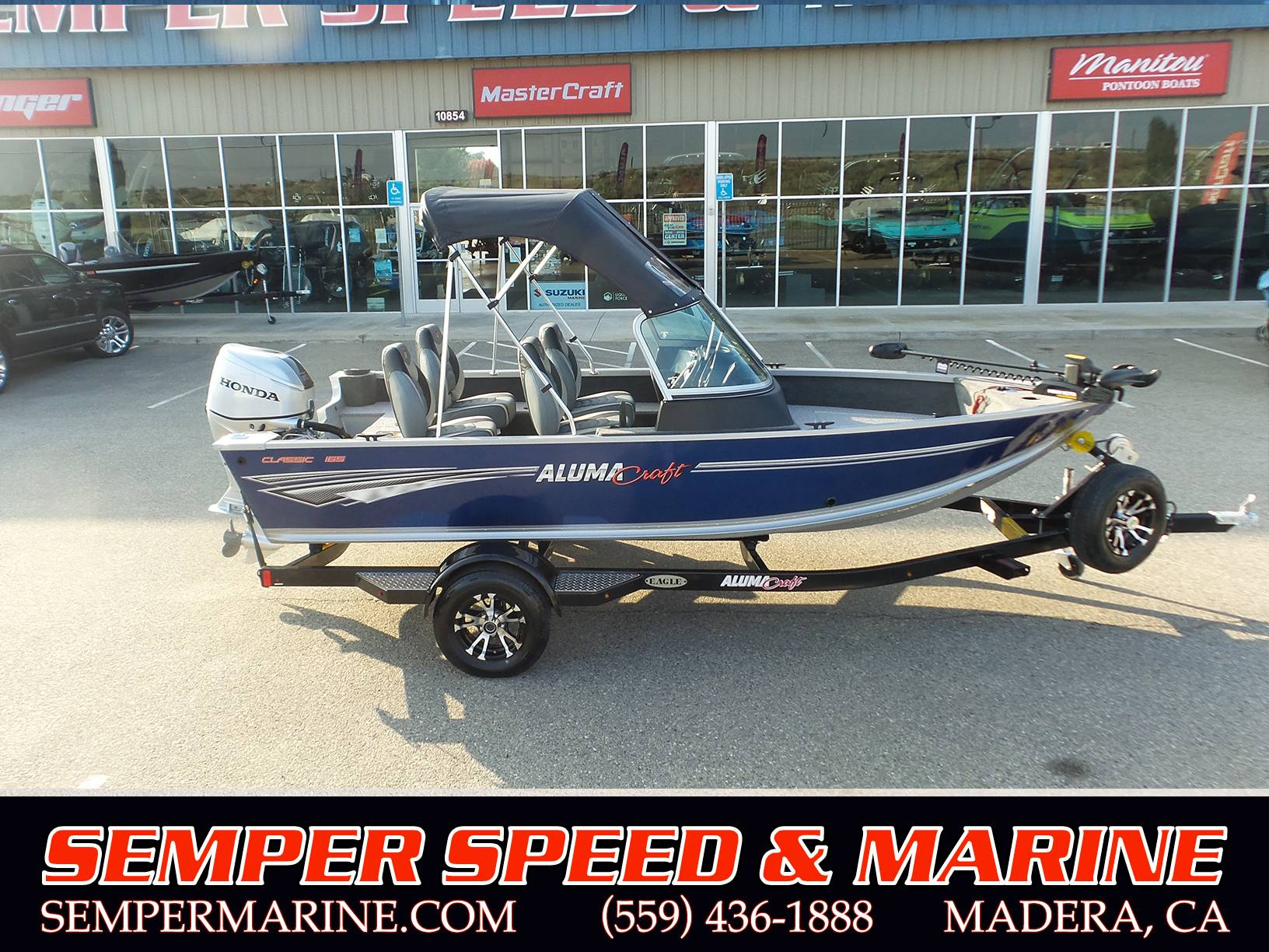 2019 Alumacraft Classic 165 Sport in Madera, California - Photo 1