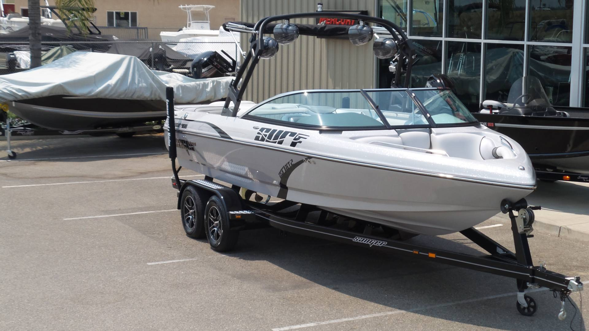 2019 Sanger Boats V-237 XTZ in Madera, California