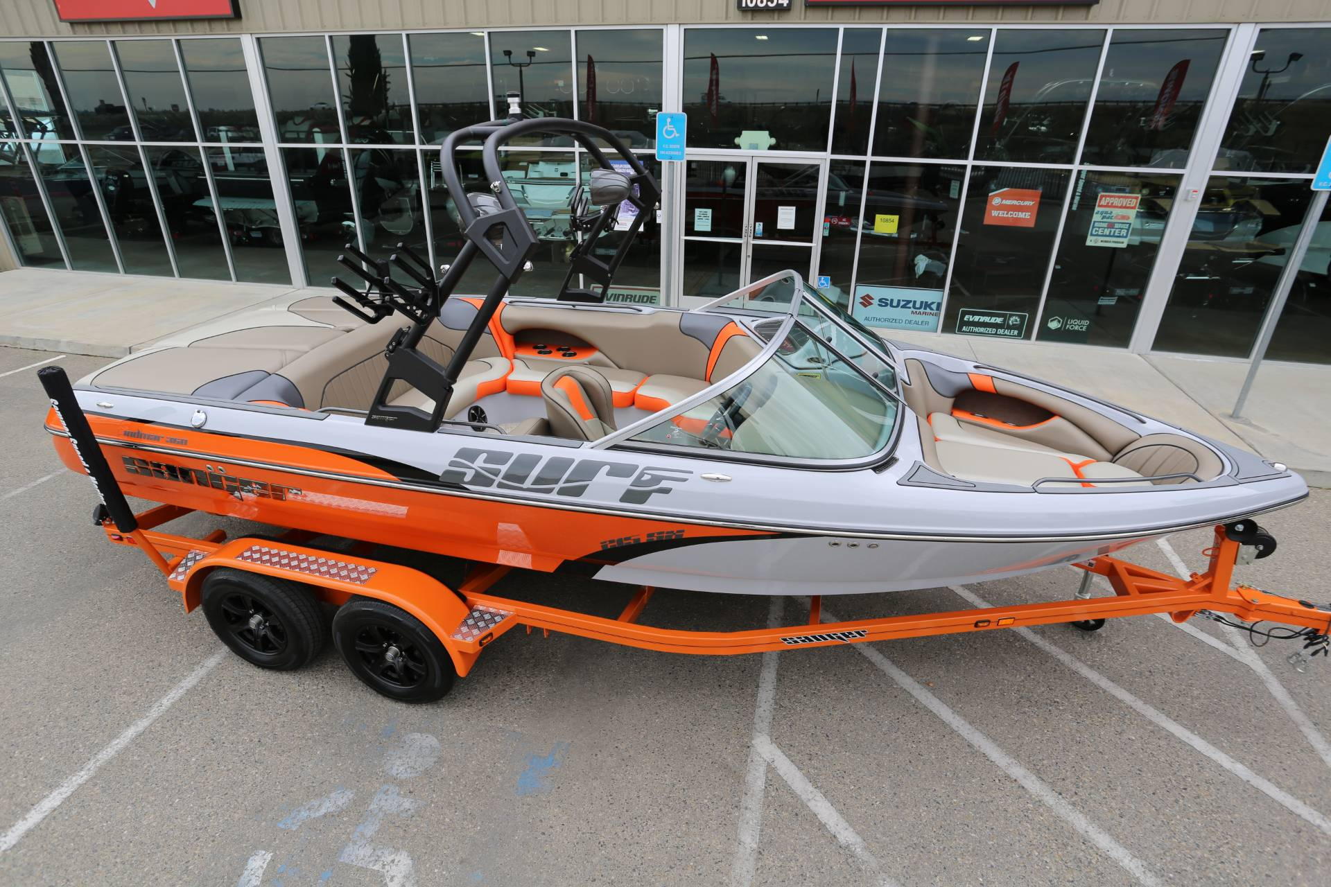 2021 Sanger Boats V215 SX in Madera, California - Photo 25