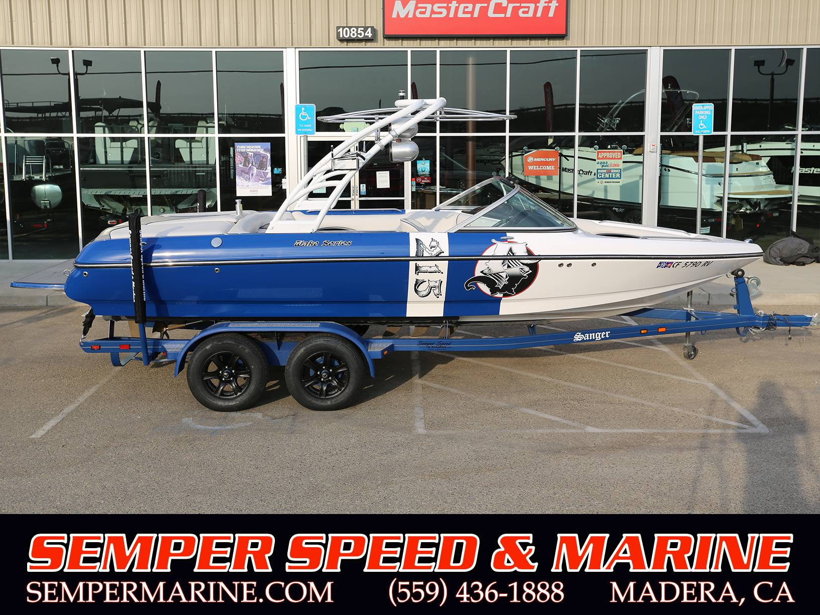 2013 Sanger Boats V215 S in Madera, California - Photo 1