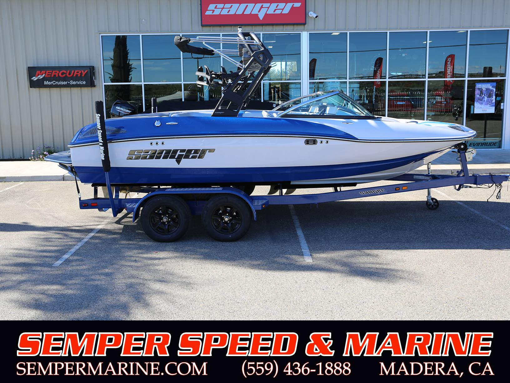 2021 Sanger Boats 212 SL in Madera, California - Photo 1