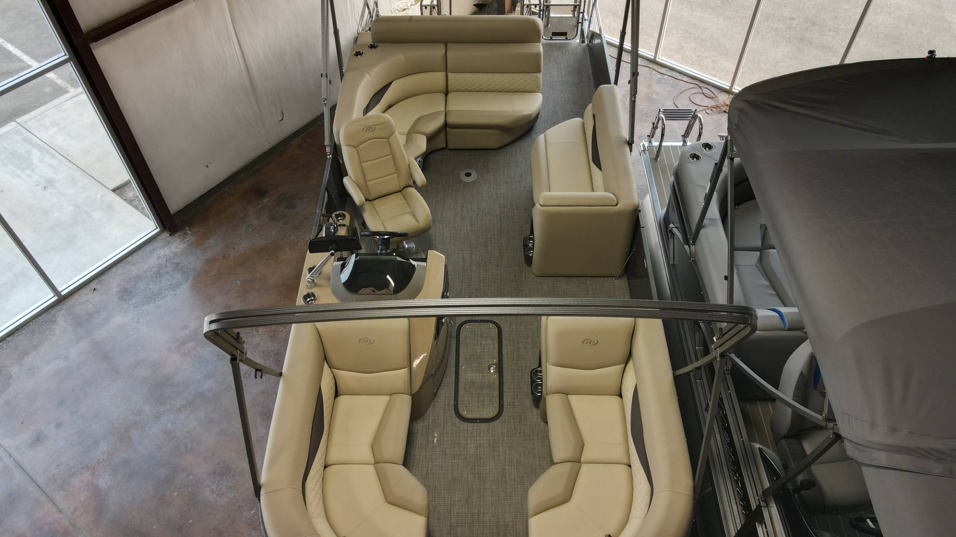 2021 Manitou 25 SES Bench in Madera, California - Photo 24