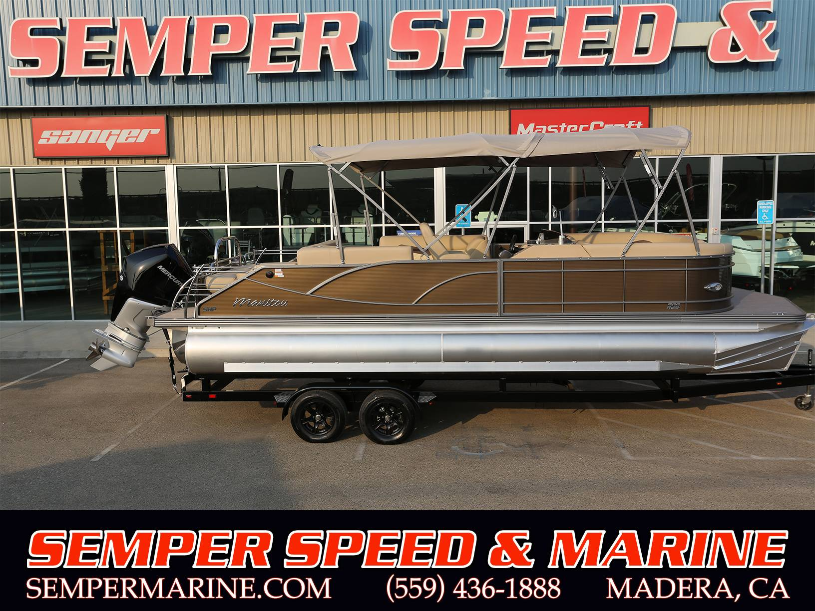 2021 Manitou 25 SES Bench in Madera, California - Photo 1