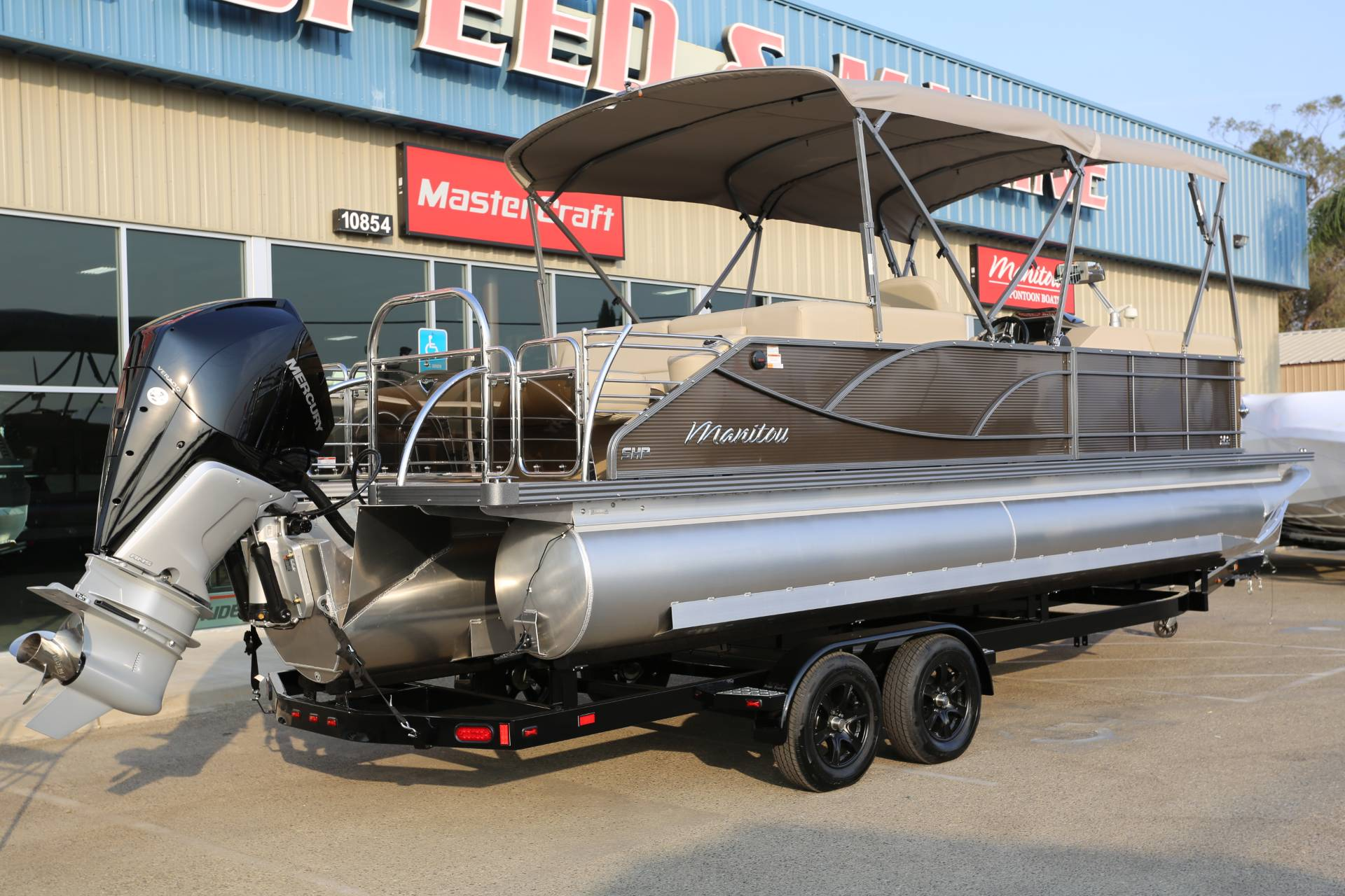 2021 Manitou 25 SES Bench in Madera, California - Photo 5