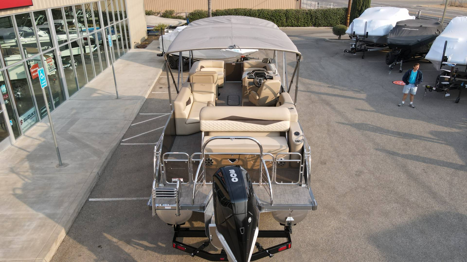 2021 Manitou 25 SES Bench in Madera, California - Photo 7