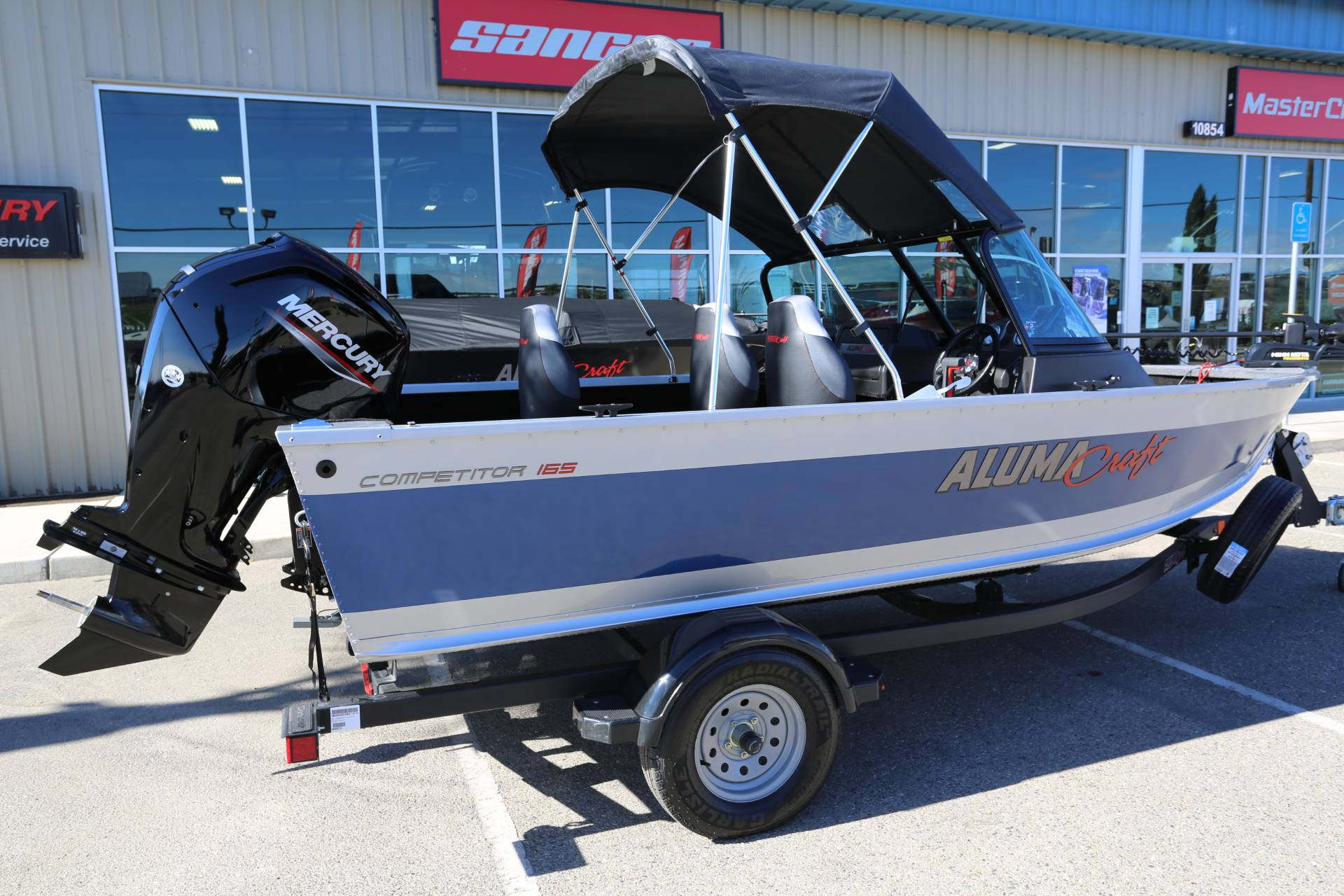 2021 Alumacraft Competitor 165 Sport in Madera, California - Photo 5