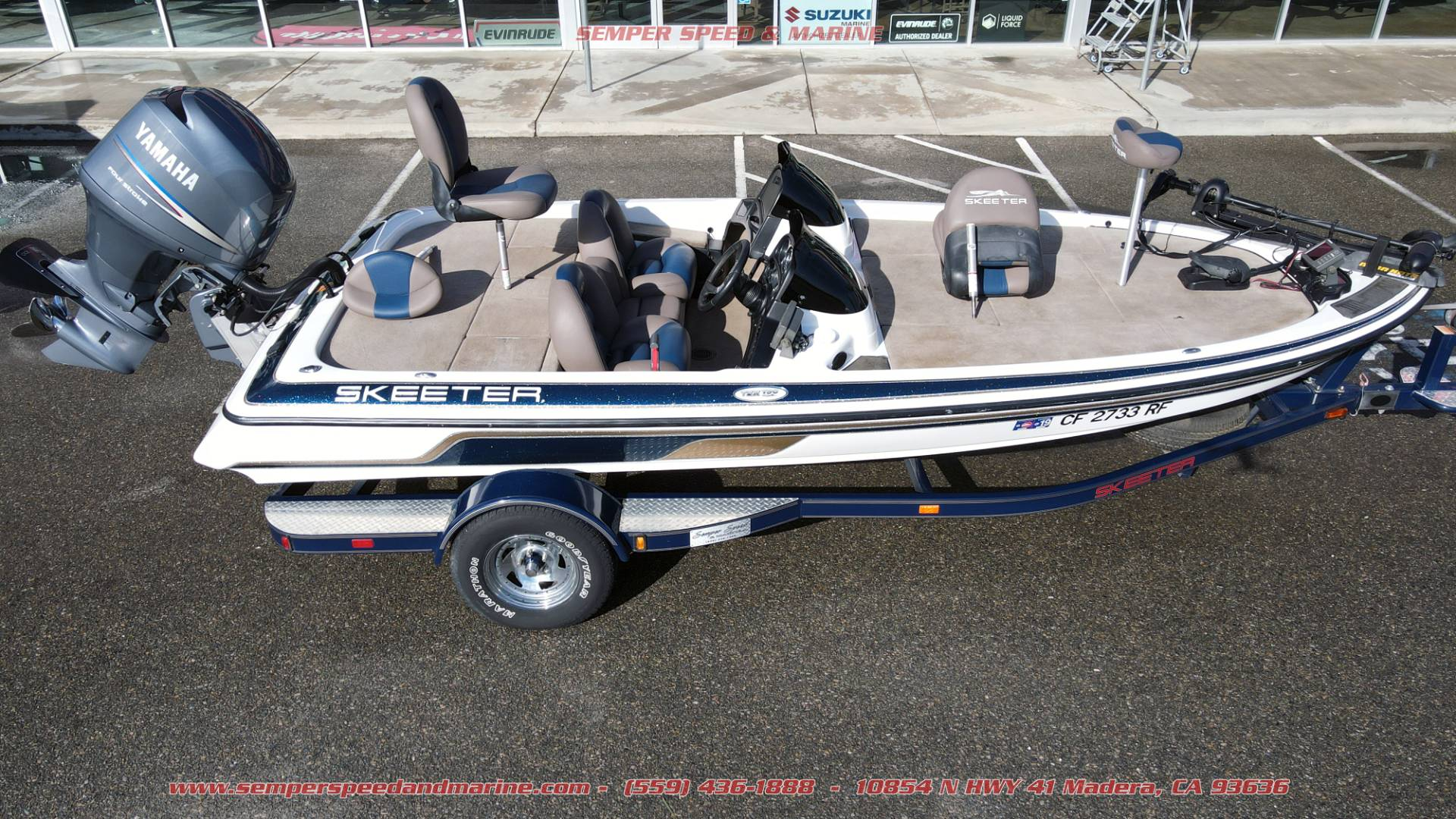 2005 Skeeter TZX190 in Madera, California - Photo 2
