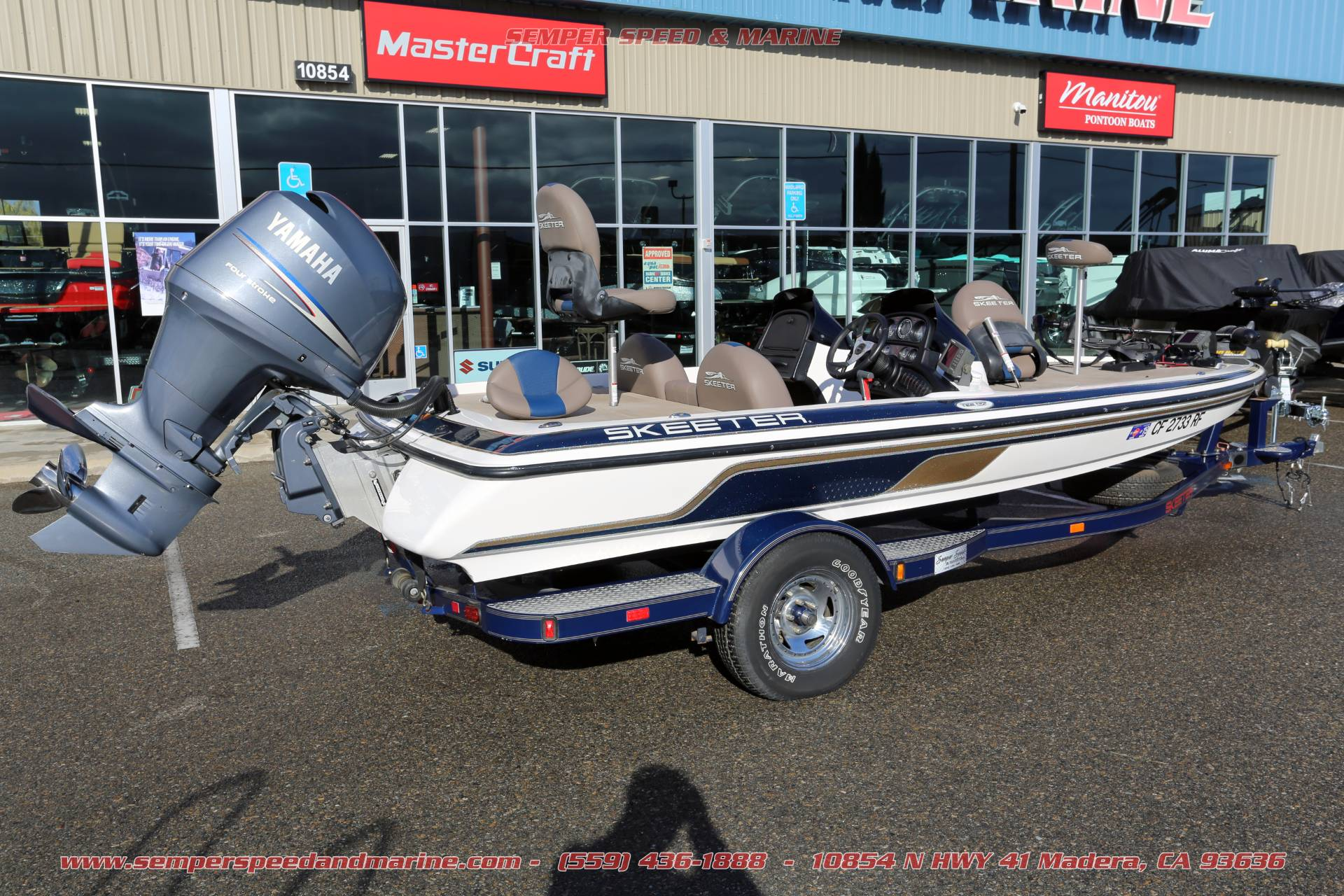 2005 Skeeter TZX190 in Madera, California - Photo 5