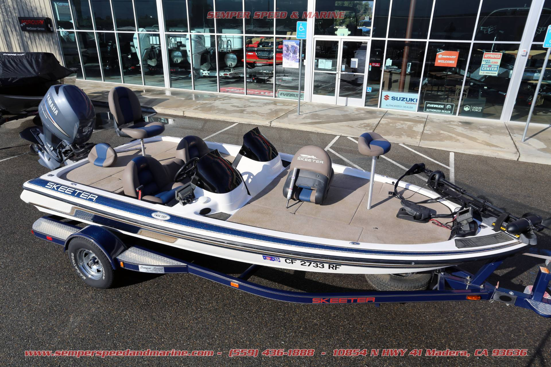 2005 Skeeter TZX190 in Madera, California - Photo 76