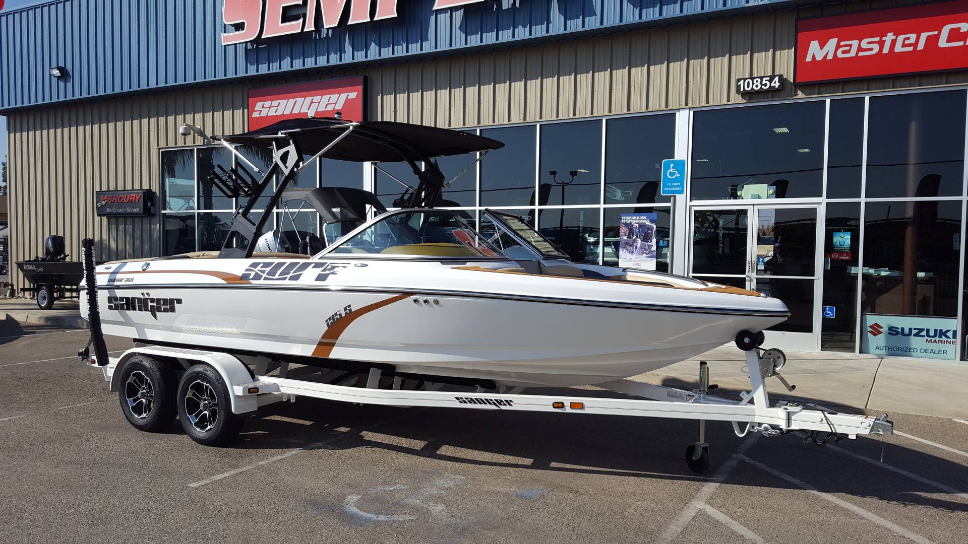 2020 Sanger Boats V215S in Madera, California - Photo 3