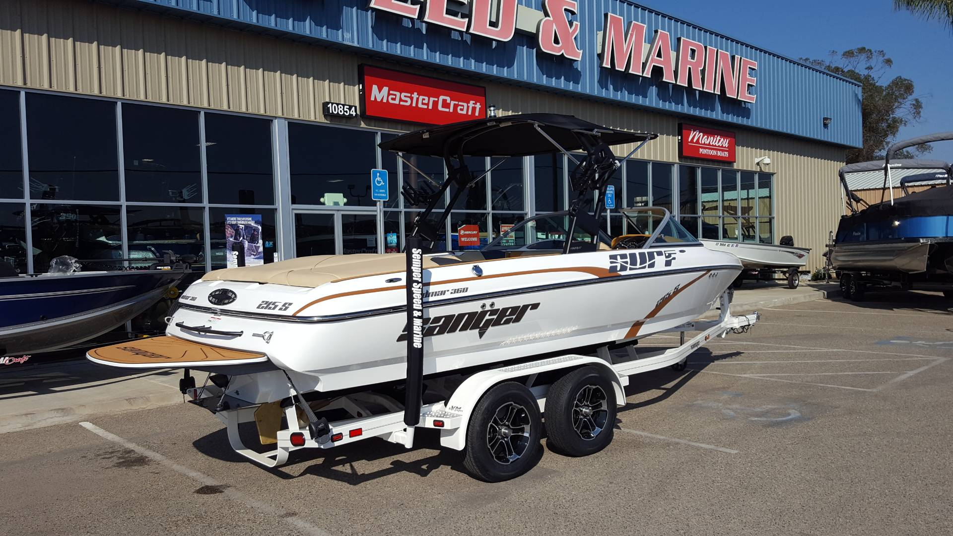 2020 Sanger Boats V215S in Madera, California - Photo 4