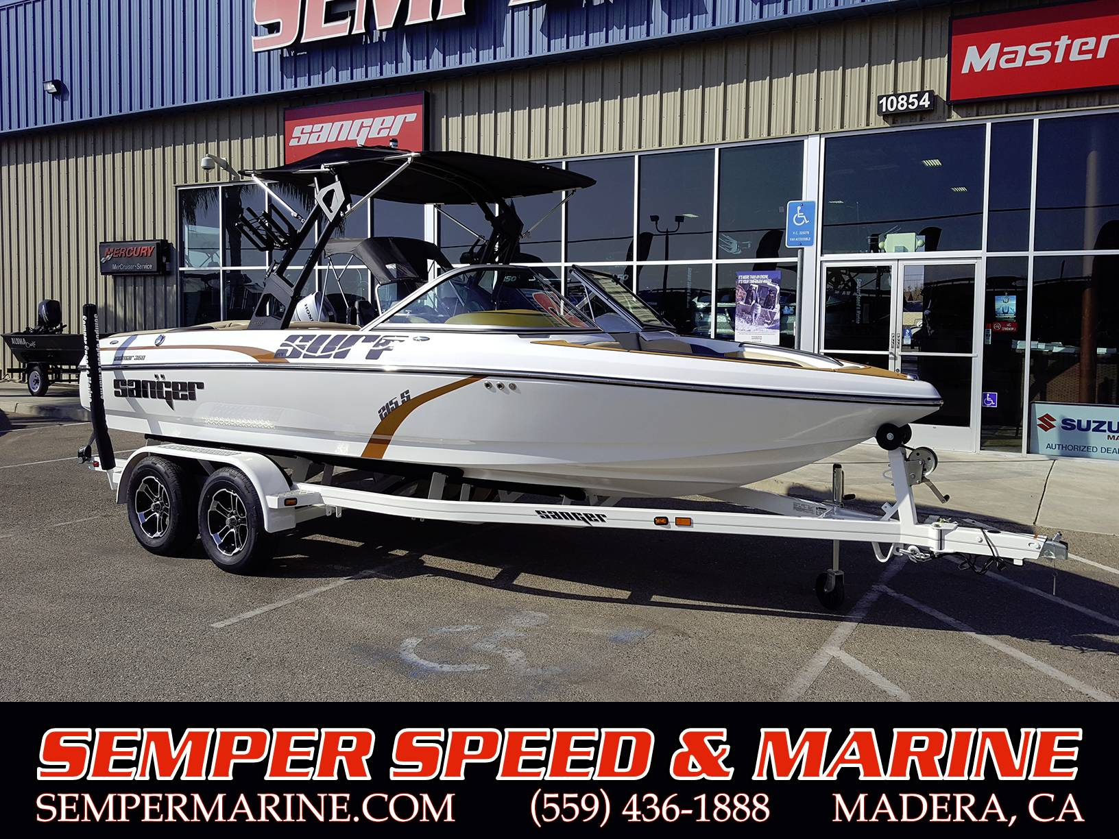 2020 Sanger Boats V215S in Madera, California - Photo 1
