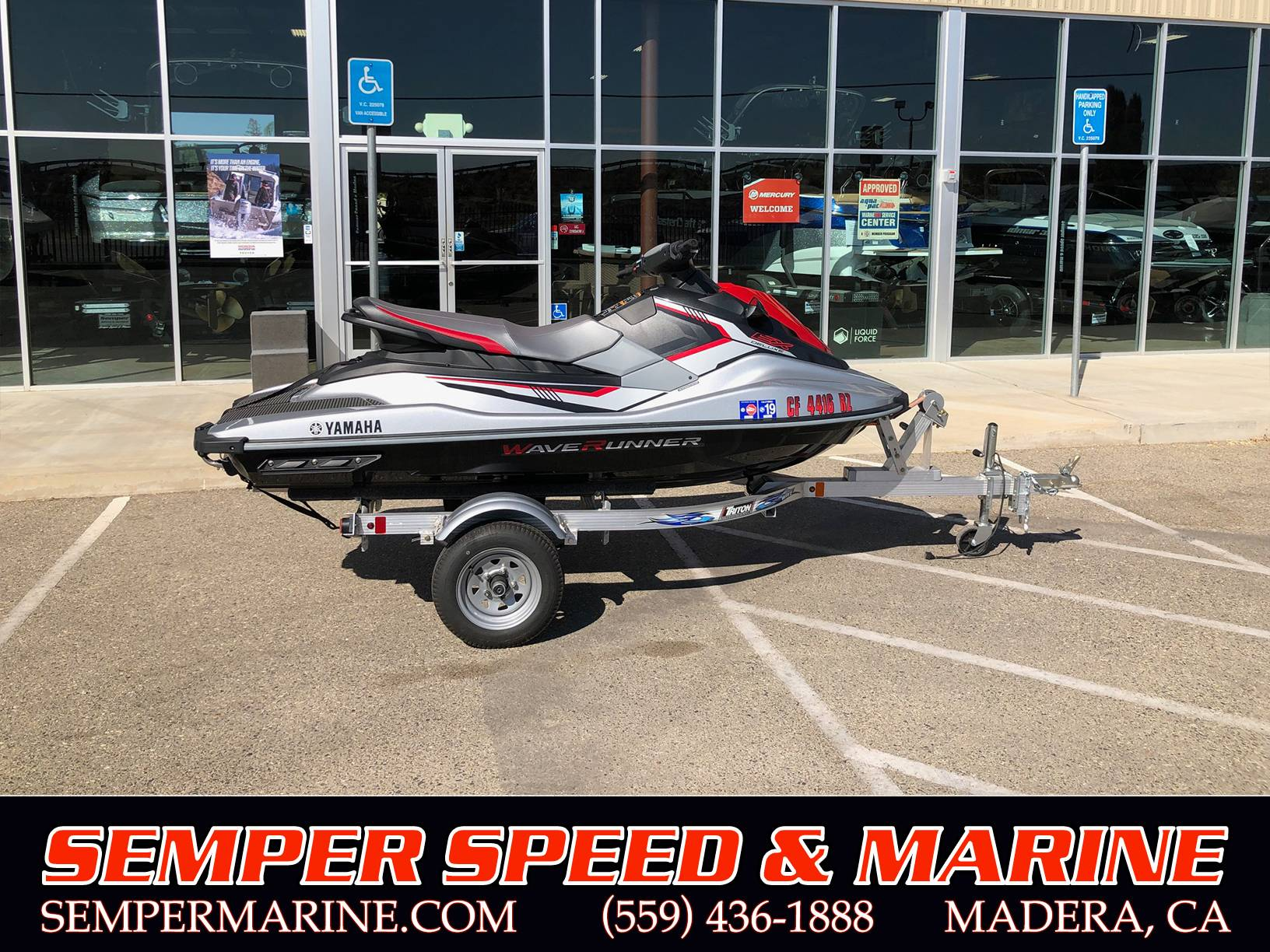 2017 Yamaha Waverunner X Deluxe in Madera, California - Photo 1