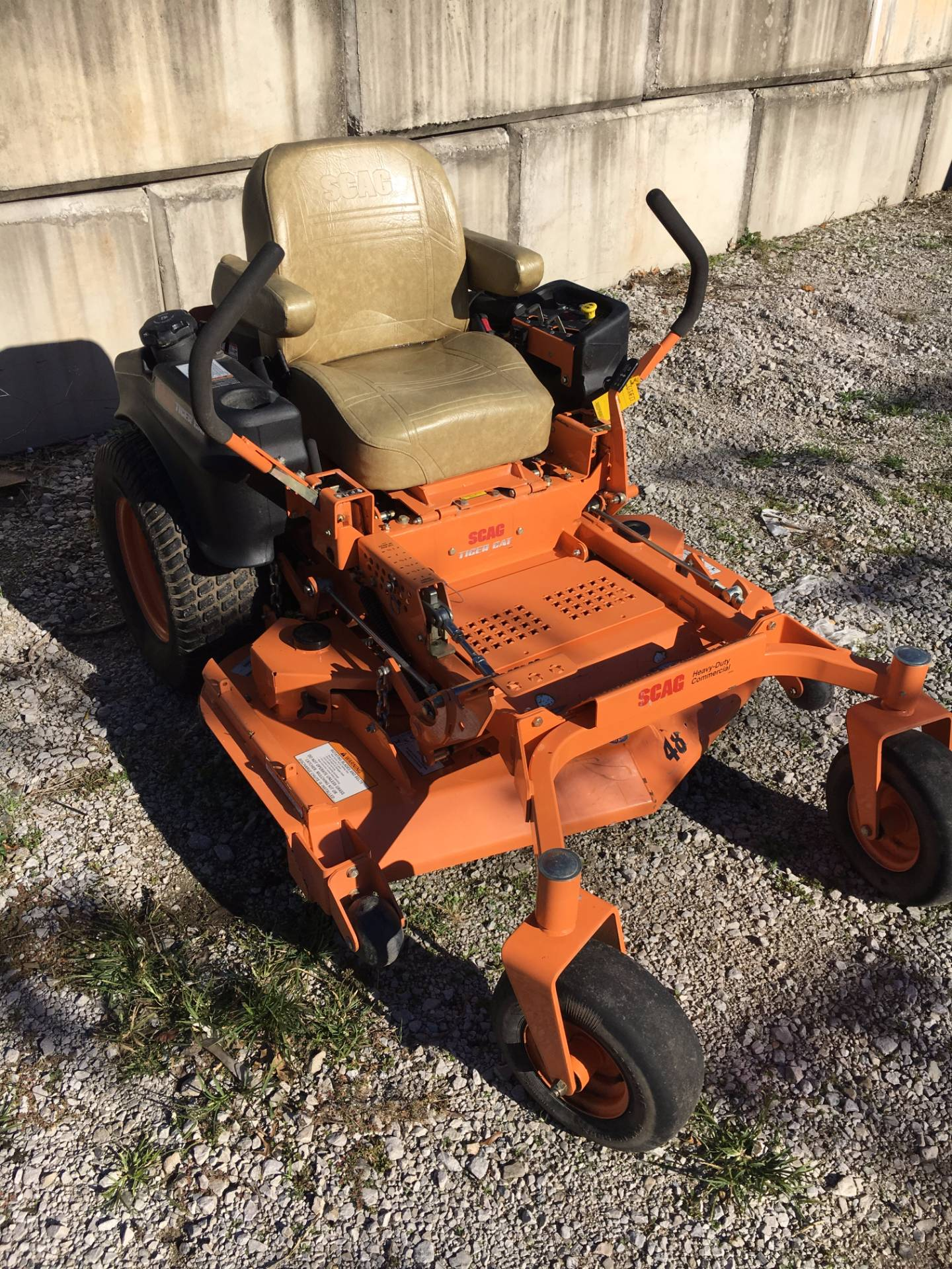 used 2013 scag power equipment tiger cat 26 hp 48 lawn mowers riding in terre haute in. Black Bedroom Furniture Sets. Home Design Ideas