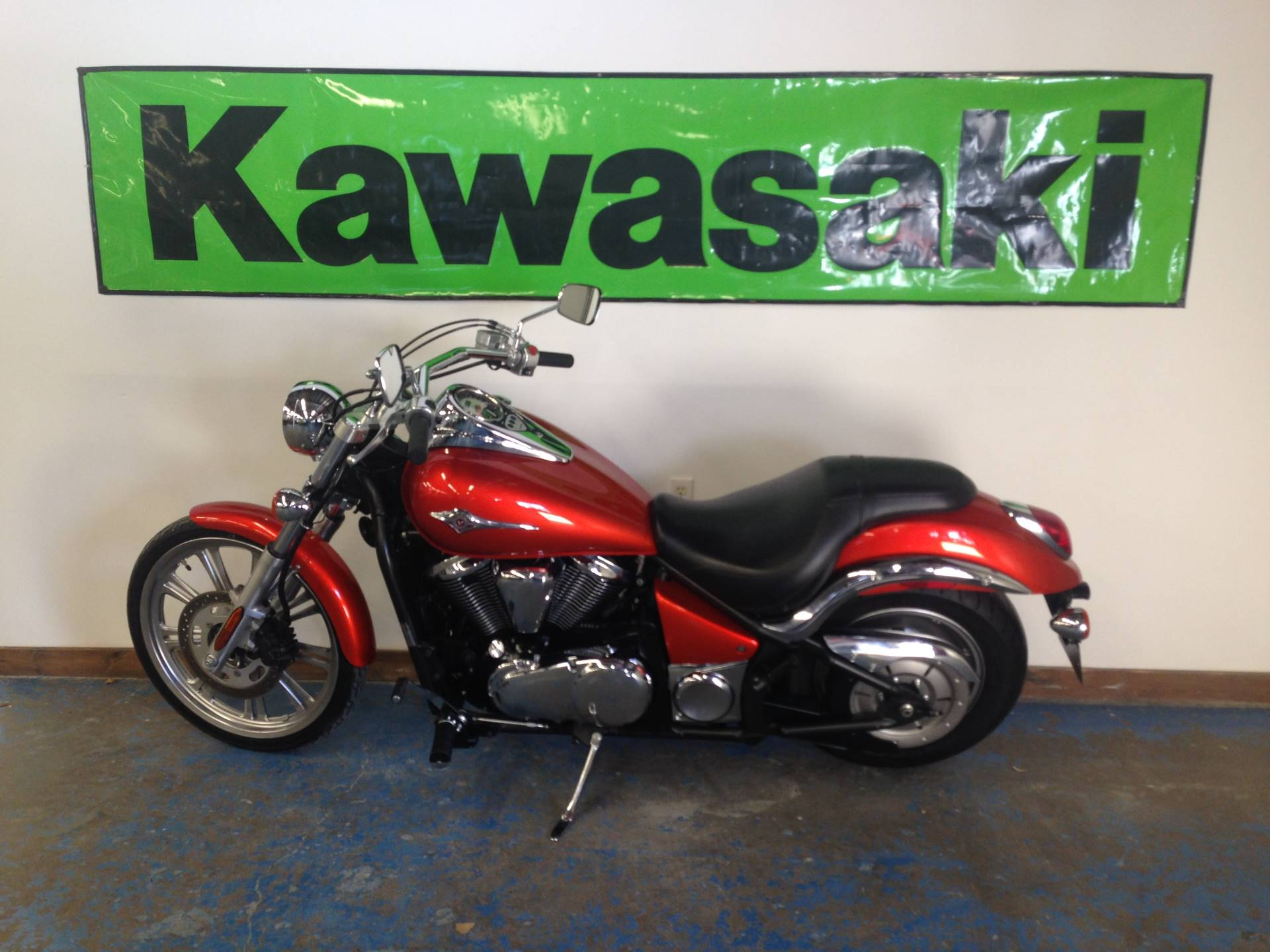 2009 Kawasaki Vulcan® 900 Custom in Nevada, Iowa