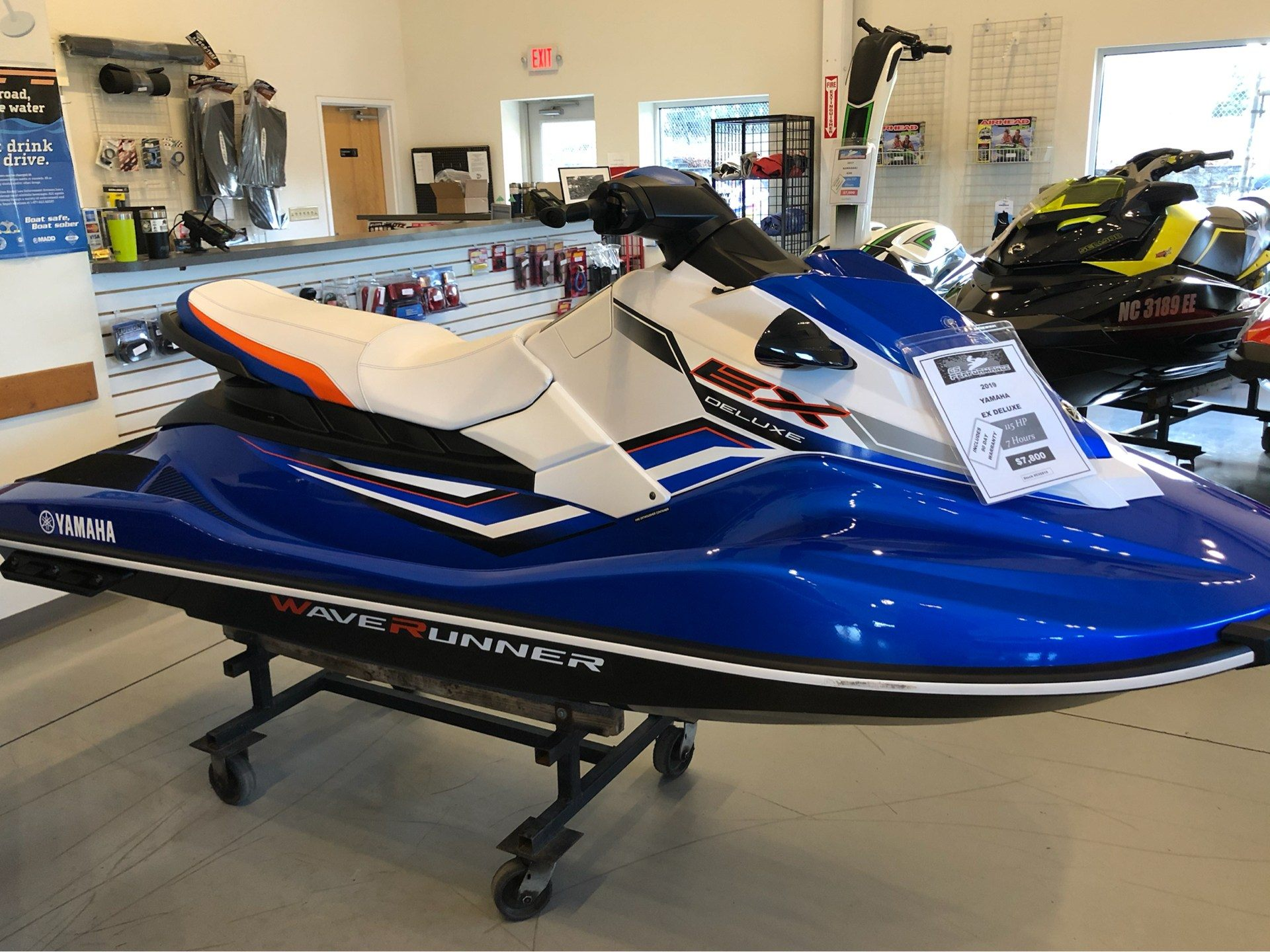 2019 Yamaha EX Deluxe in Mooresville, North Carolina - Photo 1