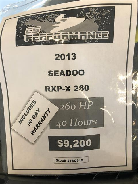 2013 Sea-Doo RXP®-X® 260 in Mooresville, North Carolina - Photo 3