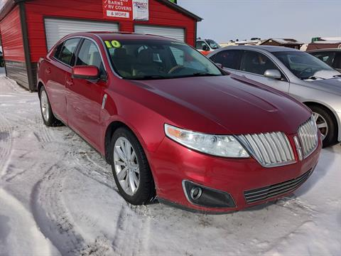 2010 LINCOLN MKS in Harrison, Michigan - Photo 1