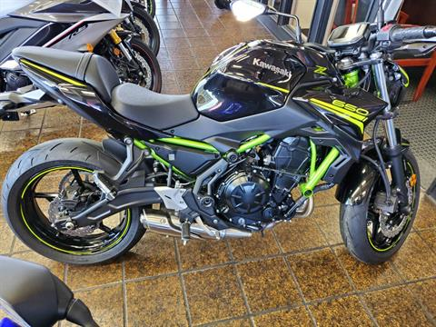 2020 Kawasaki Z650 ABS in Sacramento, California - Photo 5