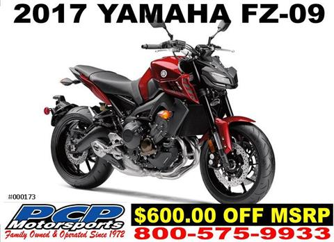2017 Yamaha FZ-09 in Sacramento, California