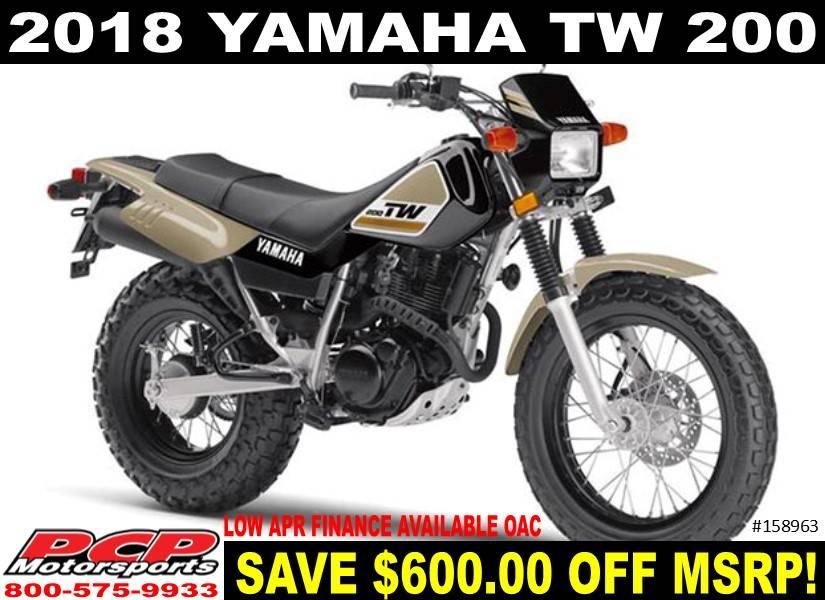 2018 Yamaha Tw200 In Sacramento California