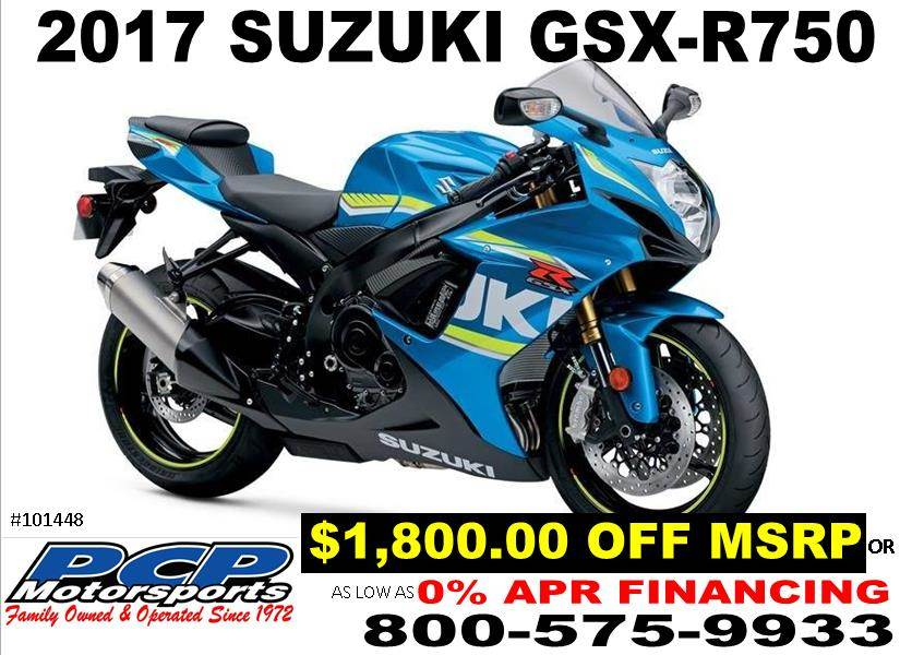 2017 Suzuki GSX-R750 in Sacramento, California
