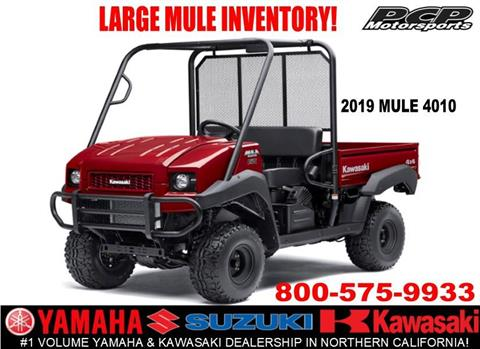 2019 Kawasaki Mule 4010 4x4 in Sacramento, California - Photo 1