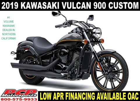 2019 Kawasaki Vulcan 900 Custom in Sacramento, California