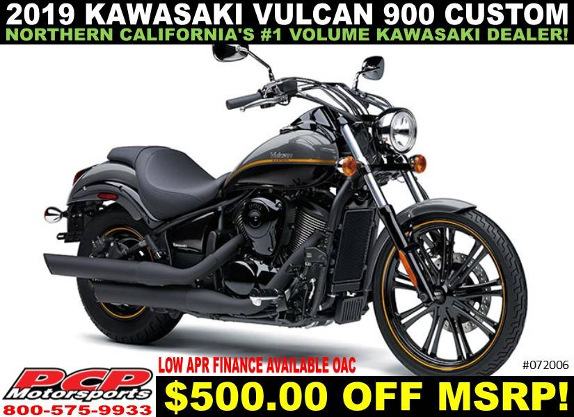 2019 Kawasaki Vulcan 900 Custom in Sacramento, California - Photo 1