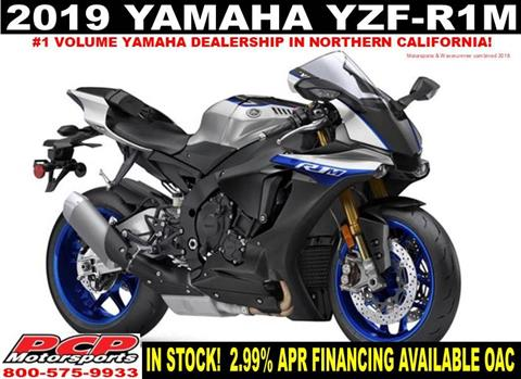 2019 Yamaha YZF-R1M in Sacramento, California - Photo 1