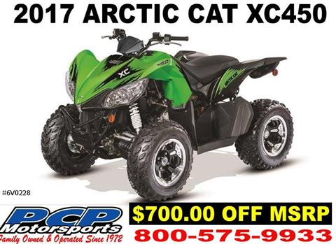 2017 Arctic Cat XC 450 in Sacramento, California